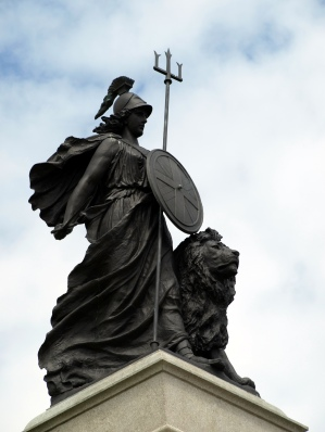 Britannia-Statue