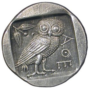 Ancient Greek coin replica by Slavey Petrov