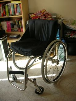 No extra rooms allowed, no matter what you need them for. Photo: wheelchair in a room at home. By Wheelz24.