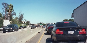 Santa monica traffic jam
