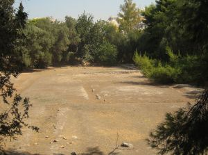 Plato's Academy Archaeological Site in Akadimia Platonos subdivision of Athens, Greece. Photo by Tomisti (CC BY-SA 3.0).