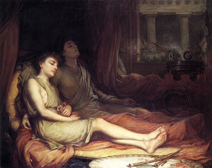 John William Waterhouse, 1874. Public Domain.