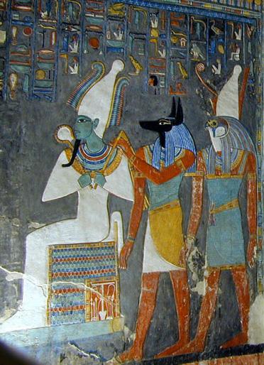 La tombe de Horemheb (KV.57) (VallŽe des Rois / Thbes ouest)