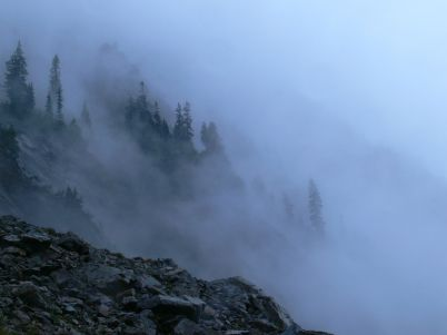 """Approaching Mist"" by Josh Lewis"