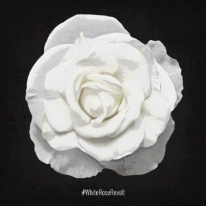 The White Rose Society #whiteroserevolt