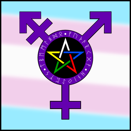 Trans Pagan Symbol