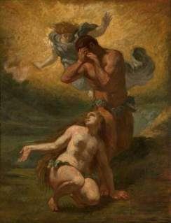 Delacroix, Eugene; The Expulsion of Adam and Eve from Paradise; Glasgow Museums; http://www.artuk.org/artworks/the-expulsion-of-adam-and-eve-from-paradise-83737