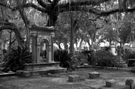 Bonaventure Cemetery in Savannah, Georgia. Source: Wikimedia Commons
