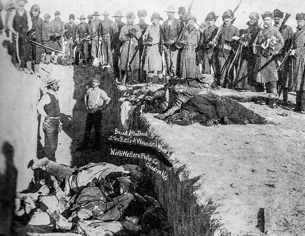 Mass Grave of Natives after Wounded Knee
