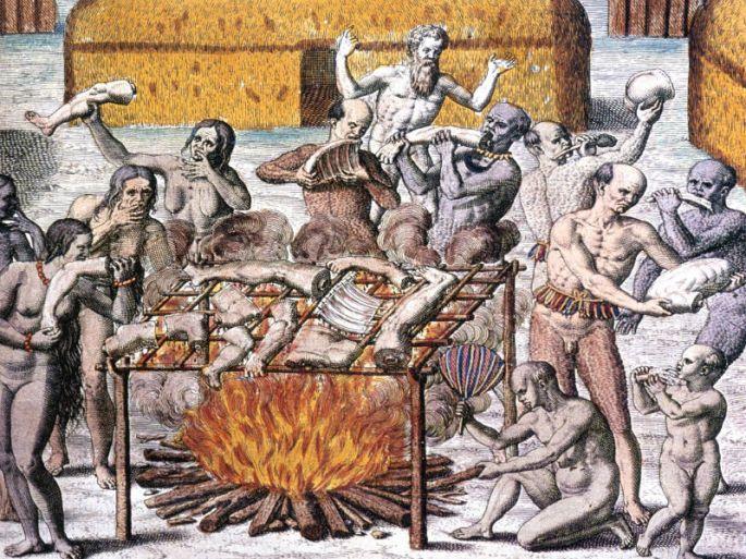 Indios-Antropofagia-Canibalismo