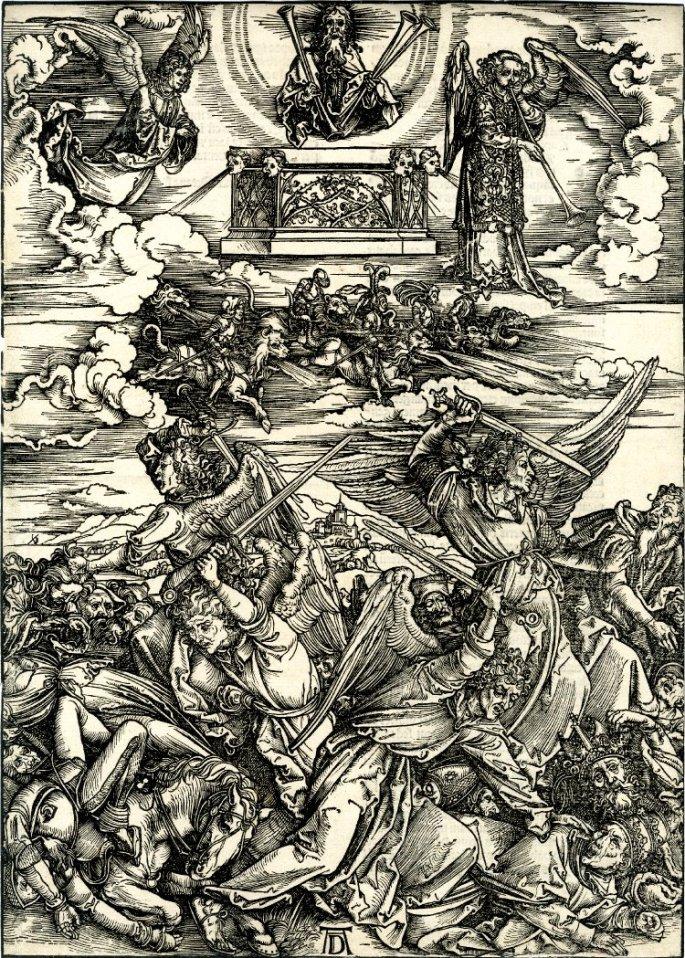 Dürer_woodcut_series_-_Apocalypse_9